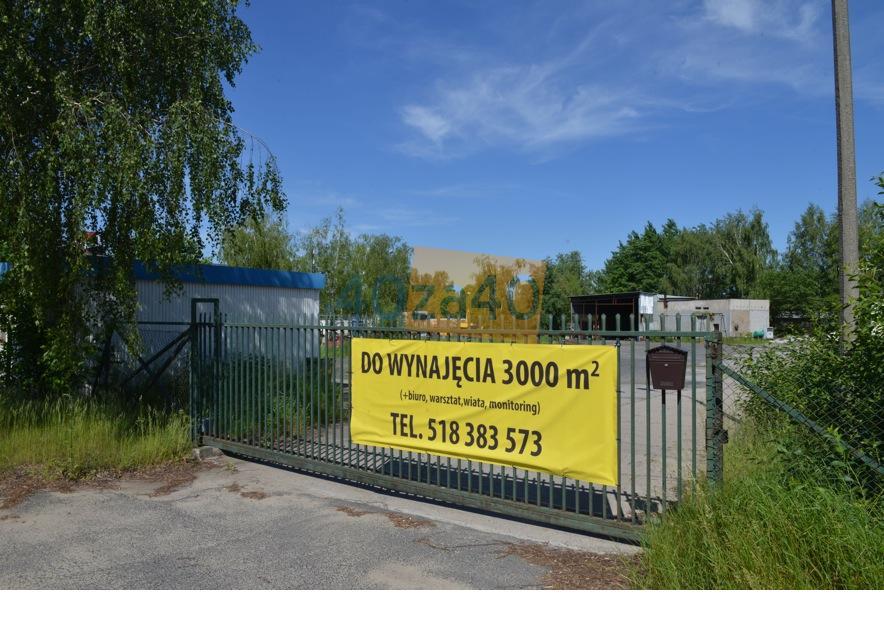 Działka do wynajęcia3000 m2